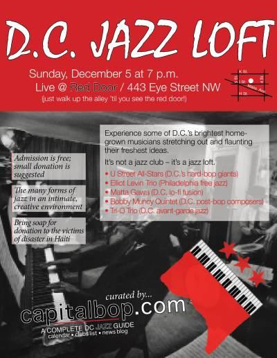 CapitalBop jazz loft